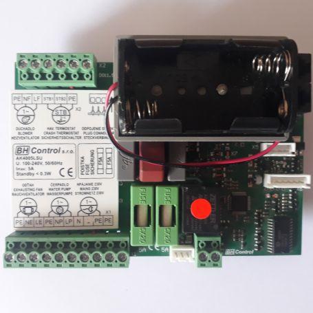 Carte électronique chaudiere bois combustion inversée prix vigas/ Hvs