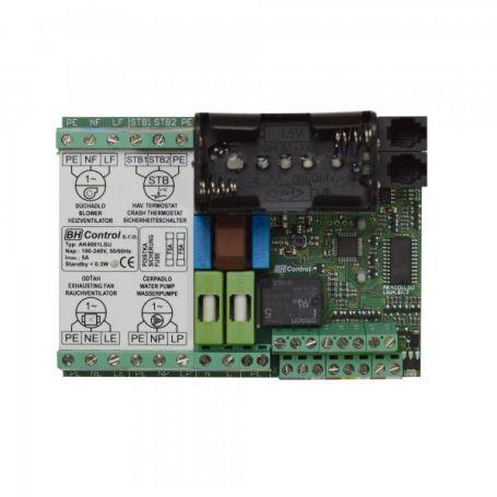 Carte électronique chaudiere bois avec ballon tampon AK4001LSU