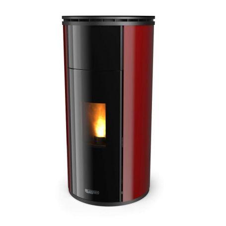 Poele electrique design Laminox Silent 6 CX Black Line