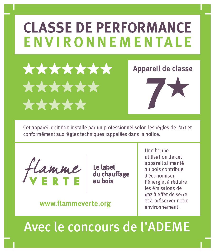 Label flamme verte 7 étoiles - Chauffage Economique